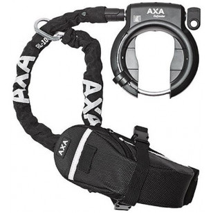 """Podkowa AXA """"Defender"""" + łańcuch """"RL100"""""""